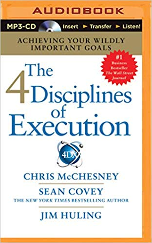 Sean Covey - 4 Disciplines of Execution Audio Book Free