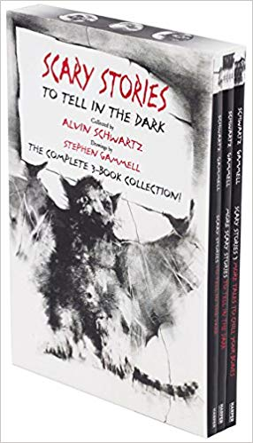 Alvin Schwartz - Scary Stories Paperback Box Set Audio Book Free